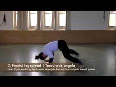 Free Floreio Flow Capoeira Tutorial | 3 basic exits from bananeira de cabeca - YouTube