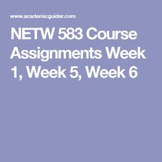 acct 601 final draft This course contains a course project where you will be required to submit one draft of the project at the end of week 5 and the final completed project at the end of week 7.
