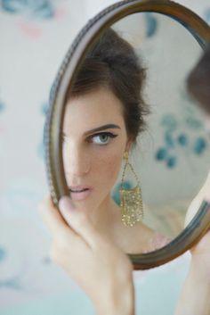 female portrait/self portrait inspiration | Mirror