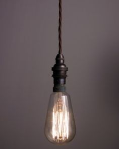 Twist flex pendant light set