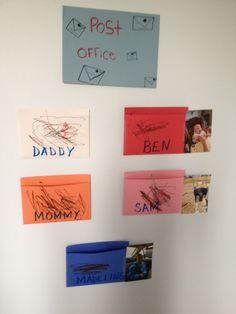 super simple Preschool Post Office