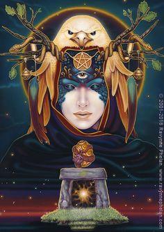 Ravynne Phelan - tarot and oracle author and artist. Destiny