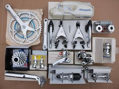 Campagnolo C-Record groupset