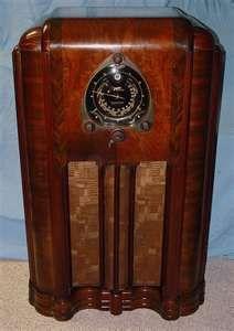 1938 Zenith floor model radio