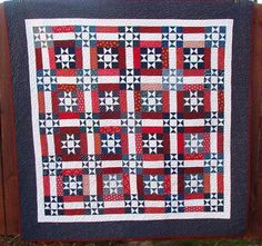 A Cry for Freedom,Ohio Stars and Rails quilt, free pattern by Bonnie Hunter at Quiltville, Quilt Inspiration