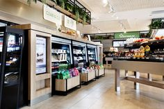 The Foodary - Mima Design - Creating Branded Retail & Hospitality Design Self Serve, Hospitality Design, Display Design, Retail Design, Liquor Cabinet, Projects, Home Decor, Log Projects, Blue Prints