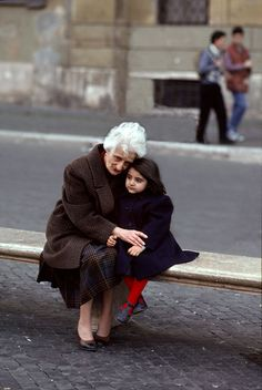 Gift of Grandparents   Steve McCurry Italy
