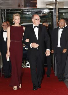 July 1, 2016: Prince Albert and Princess Charlene Attended 10th Anniversary Gala of the Prince Albert foundation