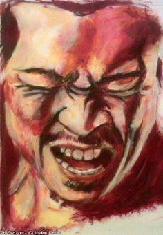 Artwork >> Nadine Nicaise >> a cry