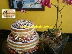 Naked cake em jf, bolos em jf, bolo pelado em jf, bolo de casamento em juiz de fora, bolo de casamento em jf, bolos de casamento, bolo para festa de casamento em jf - CASADOBOLODATORTA