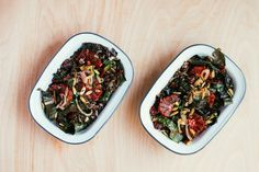 Rainbow Chard and Wild Rice Salad with Blood Orange Vinaigrette recipe on Food52