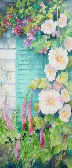 Joyce Andre, member of the Southern Arizona Watercolor Guild