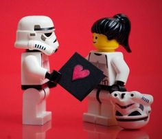 Stormtroopers need love too.     #valentinesday #valentine #starwars #lego
