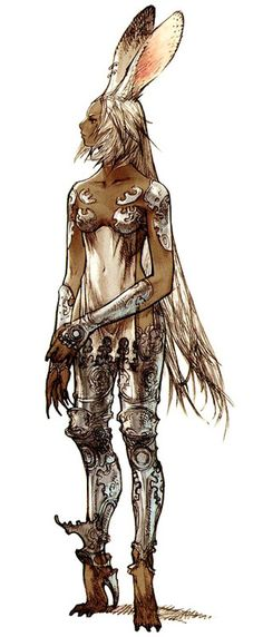 Viera Concept Art - Final Fantasy 12 (PS2) ✤ || CHARACTER DESIGN REFERENCES |