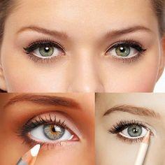 comment maquiller les yeux selon la forme- comment agrandir les petits yeux