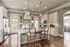 LOVE LOVE LOVE LOVE THIS KITCHEN!!!!! - MY FAVORITE!!!!   -   kitchen off front porch-color scheme, tile backsplash, floors, etc....