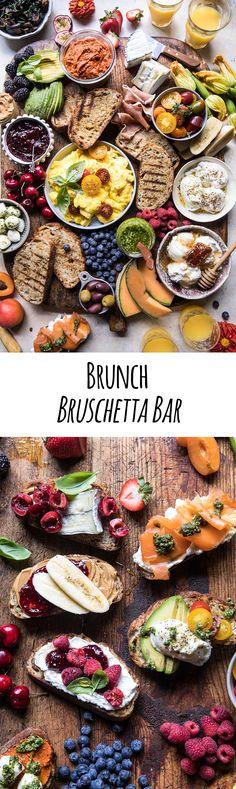 Brunch Bruschetta Bar.