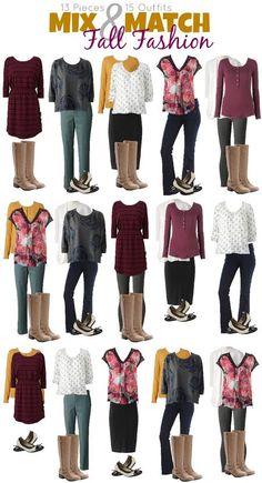 Kohl's Mix and Match Fall Fashion Round-Up | http://www.cberryonline.com/2014/09/kohls-mix-match-fall-fashion-round-up/