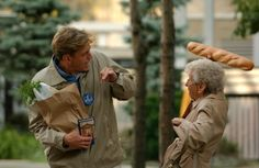sue thomas fbeye pictures   Myles tries to help an older woman with groceries   Sue Thomas Fbeye
