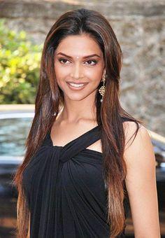 Deepika Padukone's Long Hairstyle