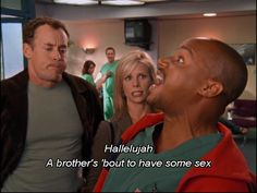 A brother's 'bout to have some sex! Cinema Movies, Movie Tv, Scrubs Quotes, Scrubs Tv Shows, Sacred Heart Hospital, Comedy Tv Shows, Funny Comic Strips, I Cant Do This, A Brother