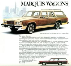 1981 Mercury Colony Park Station Wagon (by coconv) Edsel Ford, Car Ford, Ford Ltd, Mercury Cars, Mercury Auto, Station Wagon Cars, Car Advertising, Us Cars, Vintage Ads