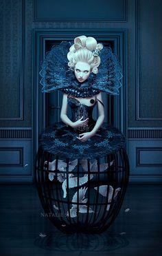 Dark beauty **We Offer Custom Picture #Framing, #ArtRestoration & #Art Gallery! Tweet Us: www.twitter.com/..., us on FB: www.facebook.com/... Our Home: www.AFrameofArt.com