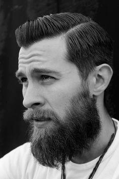Chuckanut Botanicals: Love a balanced beard/haircut combo. #beard