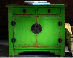 Beijing Cupboard Green – Chinese Furniture Beijing Cupboard Green Contemporary H… - Modern Asian Furniture, Sideboard Furniture, Chinese Furniture, Oriental Furniture, Funky Furniture, Antique Furniture, Chinese Interior, Asian Interior, Consoles