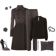 """""""COLOR BLOCK COAT #3"""" by marion-fashionista-diva-miller on Polyvore"""