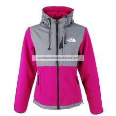 The North Face Jackets Women's Denali Hoodie(Deep Pink)