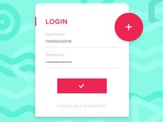#01 Compact Login from http://bit.ly/1O6sTlVUXplore UX-UI Design inspiration gallery from the web - Editor Francesco Balducci