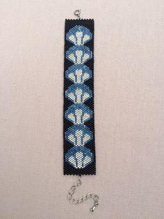 Bracelet  tissage peyote - perle miyuki