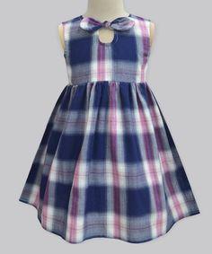 This Peppy Girl Tartan Diandra Dress - Infant, Toddler & Girls is perfect! #zulilyfinds