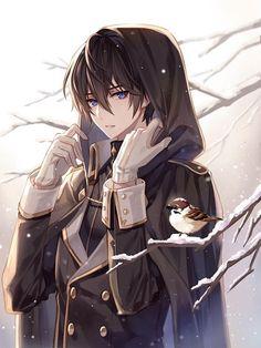 Dark Anime Guys, Cool Anime Guys, Handsome Anime Guys, Hot Anime Boy, Anime Boys, Anime Neko, Chica Anime Manga, Anime Fantasy, Anime People