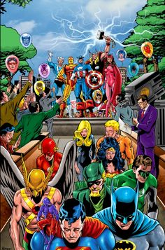 jlaavengers adamsperez homage by inker peter repovski and jang without cover - Avengers Vs Justice League