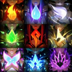elementalist lux icons