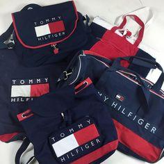Vintage Tommy Hilfiger logo bags