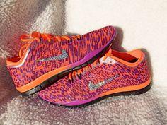 bdee684abde2 Nike Free 5.0 TR Fit 4 NRG magenta black orange by simplieHers Leopard Print