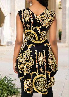 African Print Kimono Jacket with Wide Leg Pants - Ankara Print - African Dress - Two Piece - Handma - African Attire, African Dress, Blouse Styles, Blouse Designs, Moda Afro, African Blouses, African Fashion Ankara, Bodycon Dress With Sleeves, Blouses For Women