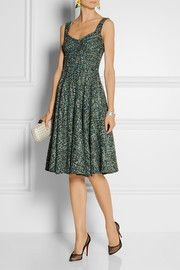 This sexy, beautiful tweed dress by Dolce & Gabbana is so interesting and unexpected. Today it sold out on @netaporter. I pinned this as a sell out item to my interest account 6 weeks ago. #myeyemygeniusmylove Dolce & Gabbana Tweed dress