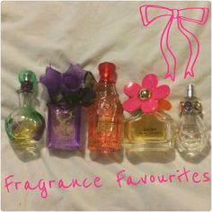 Sunshine On A Cloudy Day Blog :): Fragrance Favourites
