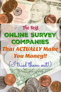 The Best Online Survey Companies that actually make you money! I put them to the test and share my favorites.