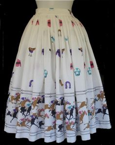 1950s Novelty skirts - Google Search