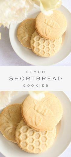 Best Sugar Cookie Recipe, Easy Cookie Recipes, Baking Recipes, Baking Ideas, Köstliche Desserts, Delicious Desserts, Dessert Recipes, Yummy Food, Lemon Recipes