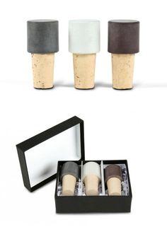 """Concret Bottle Stopper """"Next"""" #wine #accessories"""