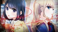 This HD wallpaper is about Anime, Love and Lies, Lilina Sanada, Misaki Takasaki, Original wallpaper dimensions is file size is Awesome Anime, Anime Love, Original Wallpaper, Hd Wallpaper, Koi, Anime Manga, Anime Art, One Punch Anime, Cover Photos