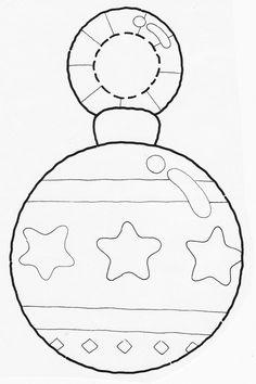Menta Más Chocolate - RECURSOS PARA EDUCACIÓN INFANTIL: Manualidades: Adornos para el Árbol de Navidad