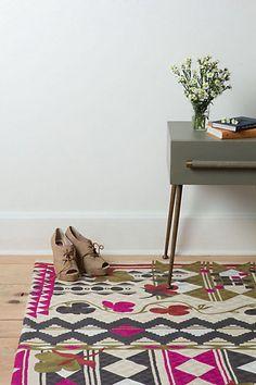 nice little area rug...Nearer Nurata Rug - Anthropologie.com