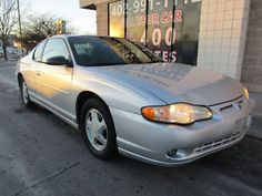 2000 Chevrolet Monte Carlo 2dr Coupe SS - item condition used 2000 chevrolet monte carlo 2dr coupe ss price us 3 495 00 see details